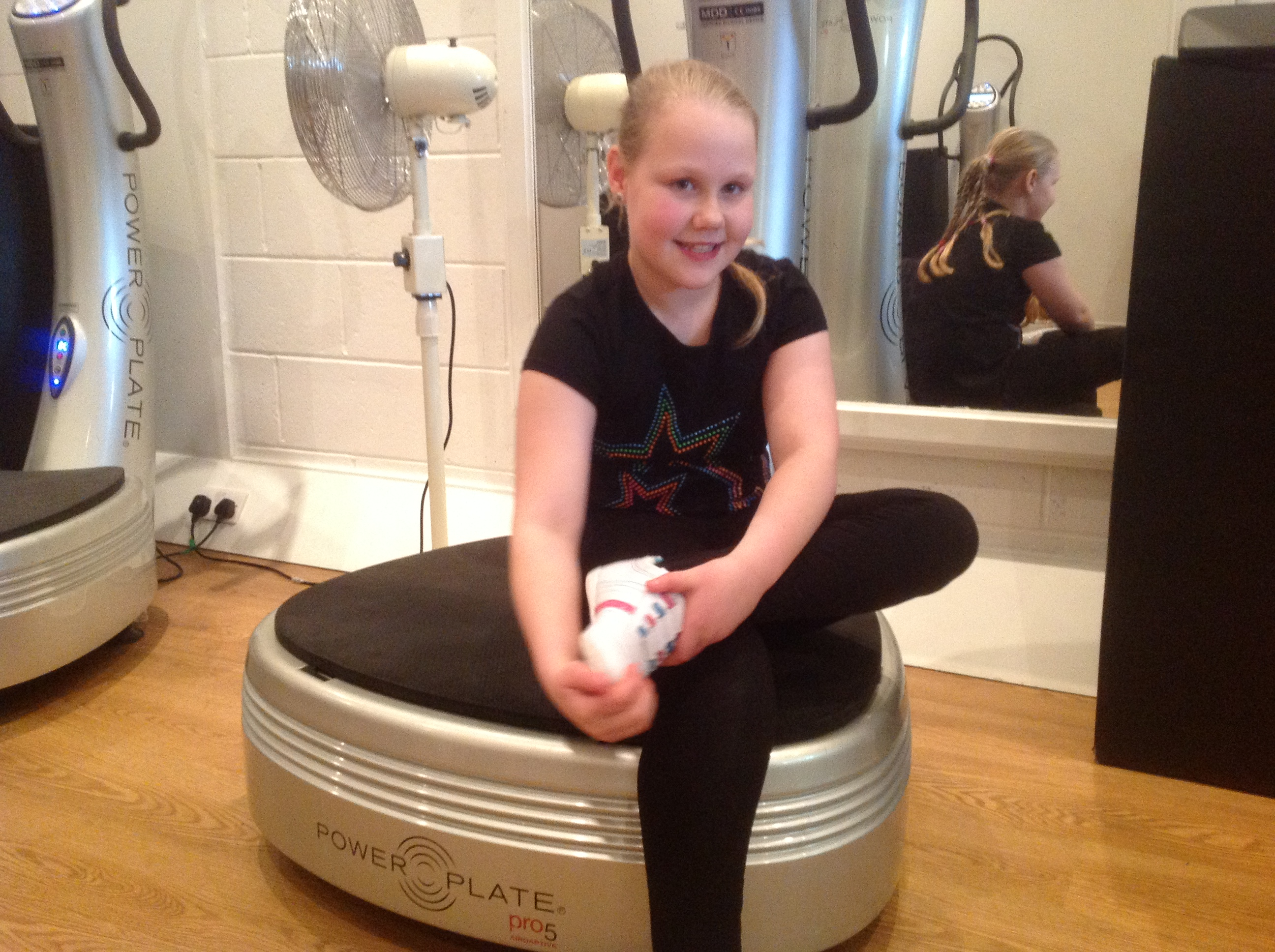 Seren on Power Plate 5