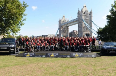 Unveil Of British Armed Forces Team For The Invictus Games