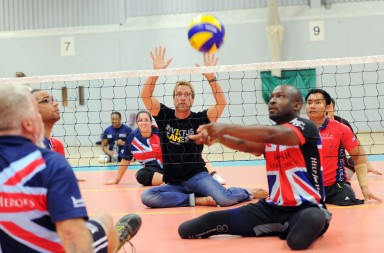 Invictus Games: Sitting Volleyball Trial