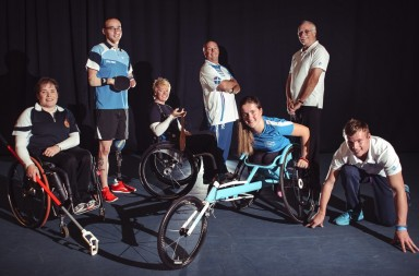 Scottish Paralympic Athletes encourage Scots to get involved in sport.