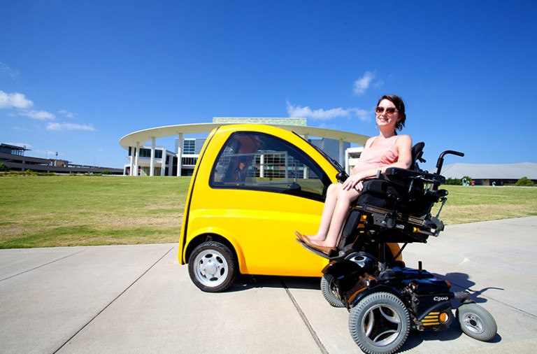 Check Out Kenguru- The Electric Car for Wheelchair Users