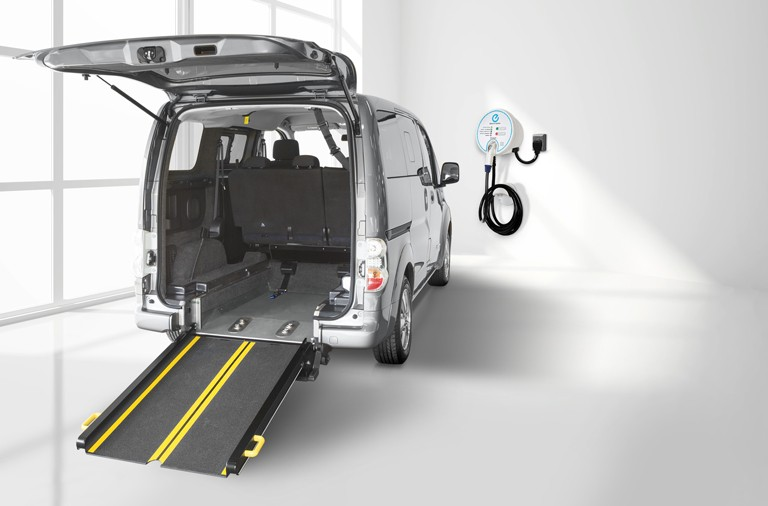 The UK's First Electric Wheelchair Accessible Vehicle