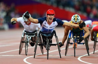 David Weir Takes Gold for GB at the London Olympics