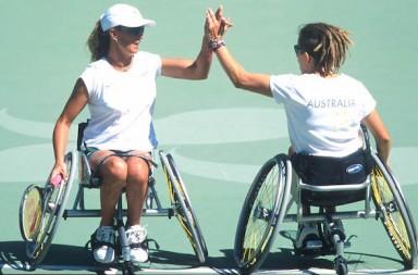 Daniella Di Toro Branka Pupovac (AUS) Wheelchair Tennis Sydney 2000 PG