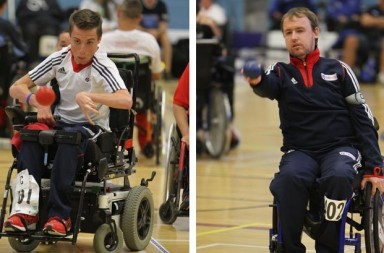 David Smith (L), Stephen McGuire (R) are aiming high at the 2016 Paralympics.