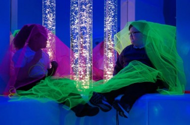 Margaret-Terry-and-Keelin-McKenna-in-their-new-BT-Sensory-Room_image-credit_Lord's-Taverners