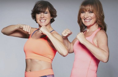 Lorraine-Kelly-and-trainer-Maxine-Jones
