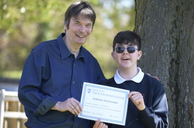 Ian Rankin/Royal Blind School prize
