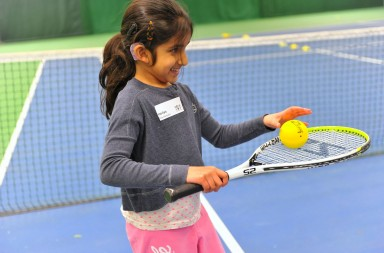 NDCS Hearing Impaired Tennis Festival - Leeds, March '13.