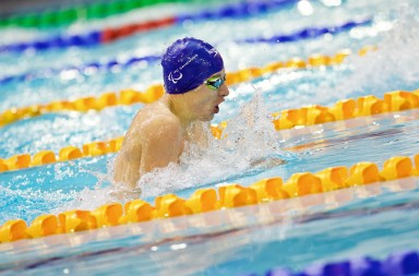 IPC World Swimming Championships 2015 in Glasgow.