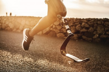 Ottobock has created a line of running blades