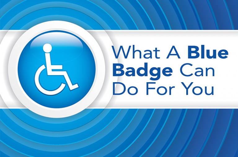 What A Blue Badge Can Do For You