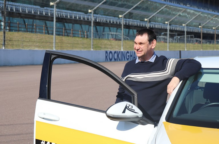 Shaun takes the driving seat thanks to The Fremantle Trust