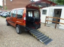 2007 56 Fiat Doblo DIESEL Wheelchair Accessible Vehicle