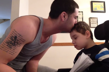 Jayce and Jared - Rapping Dad, Disabled Son