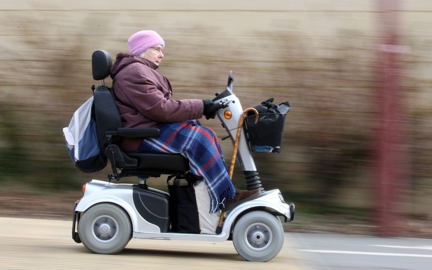 Image result for mobility scooters law