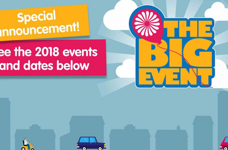 The Big Event arrives at the NEC, Birmingham for 2018