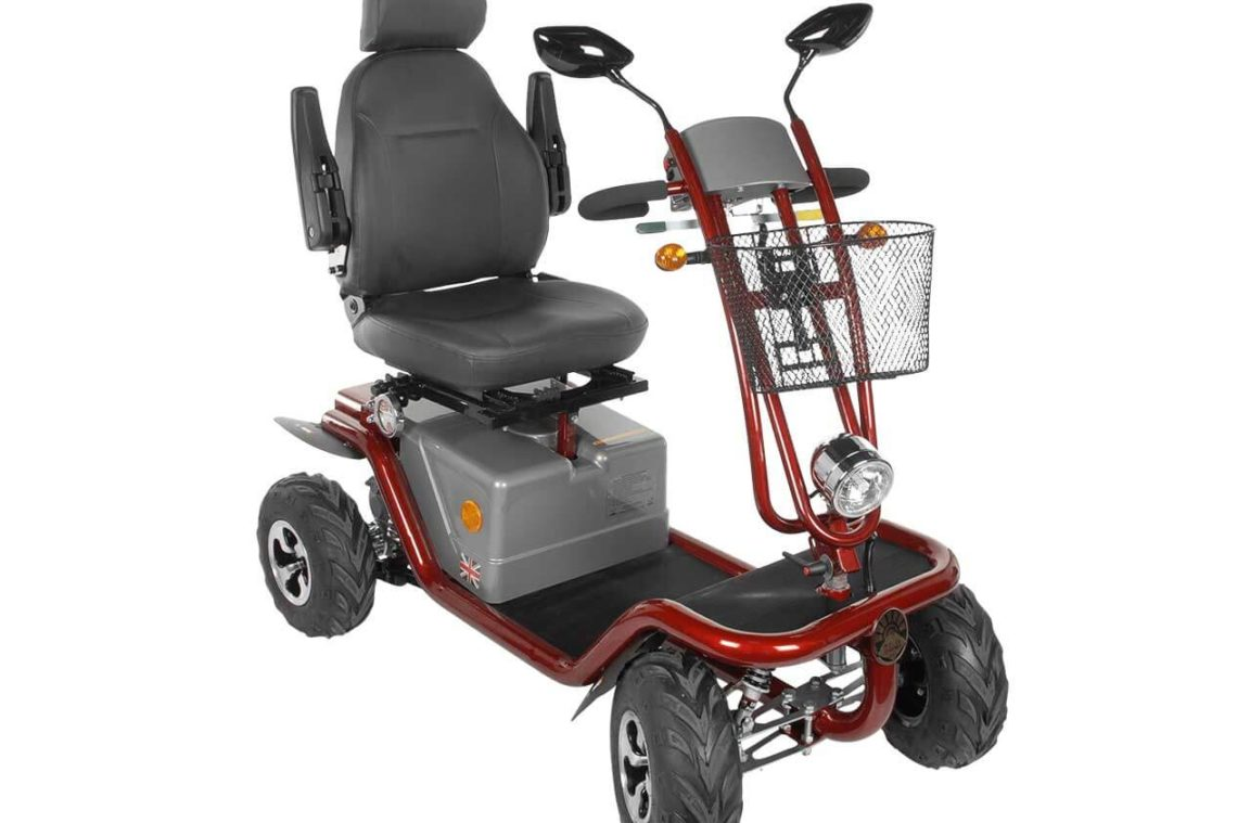 Horizon Mobility, MAYAN AC All Terrain Mobility Scooter